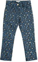 Little Marc Jacobs Leo Printed Stretch Denim Jeans