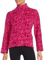 Miss Elaine Damask Fleece Sleep Jacket