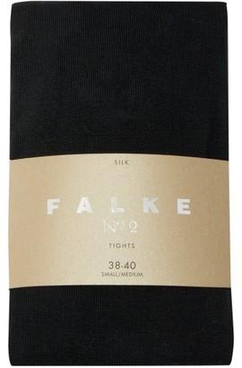 Falke No.2 Silk-blend Tights - Womens - Black