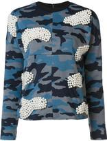 Maki Oh pearl and camouflage sweatshirt