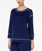 Charter Club High-Low Pajama Top, Created for Macy's