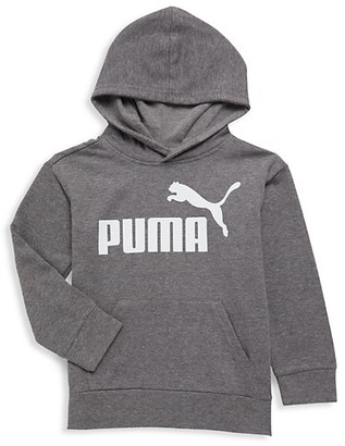 Puma Little Boy's Logo Cotton-Blend Hoodie
