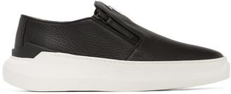 Giuseppe Zanotti Black Conley Slip-On Sneakers