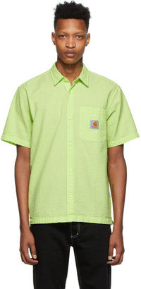 Carhartt Work In Progress Green Southfield Shirt