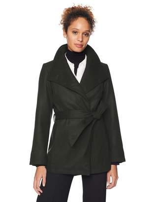 Details Women's Faux Wool Fashion Jacket