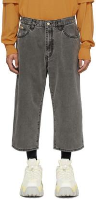 Eytys Black Denim Boyle Shorts