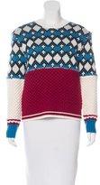 Sea Patterned Wool Sweater