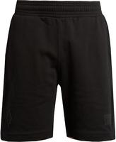Marcelo Burlon County of Milan Sajama logo-embroidered cotton shorts