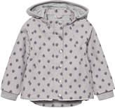Noa Noa Miniature Gull Gray Mini Printed Spring Wear Jacket