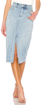 Free People Wilshire Denim Skirt. - size 24 (also