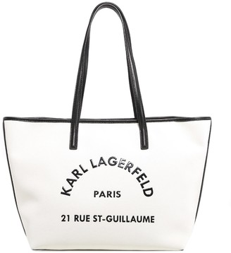 Karl Lagerfeld Paris Rue St-Guillaume Tote Bag