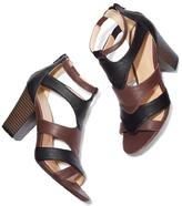 Avon Two-Toned Heel Sandal