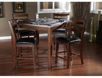 American Heritage Rosa 5 Piece Counter Game Table