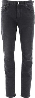 Alexander McQueen Mid-Rise Denim Jeans