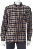 Woolrich Men's Trout Run Classic-Fit Plaid Dobby Button-Down Shirt