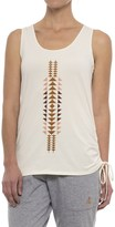 Pendleton Printed Jersey Long Tank Top (For Women)