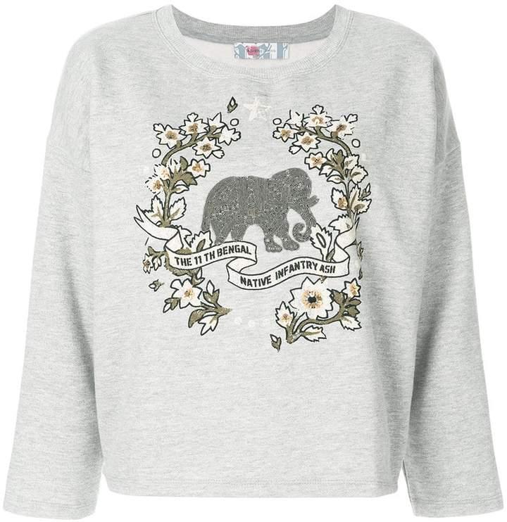 Ash printed sweatshirt
