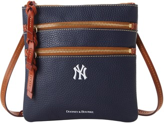 Dooney & Bourke MLB Yankees N S Triple Zip Crossbody