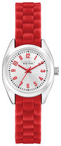 Caravelle New York The Mini Brights Collection Three-Hand Sweep Analog Silicone Strap Watch