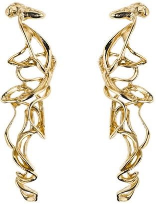 Deborah Blyth Long Gold Amara Earrings
