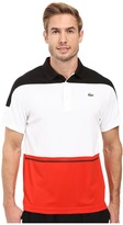 Lacoste T2 Short Sleeve Color Block Ultra Dry