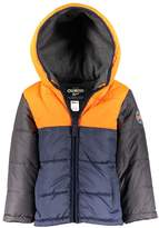 Osh Kosh Oshkosh Bgosh Baby Boy Quilted Colorblock Heavyweight Puffer Jacket