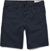 Rag & Bone Washed Cotton-Twill Chino Shorts