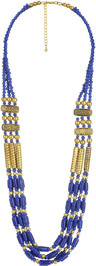 Forever 21 Tribal Beading Necklace