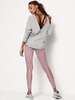 Victoria's Secret Victorias Secret Fleece V-back Sweatshirt