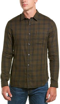 Vince Plaid Classic Fit Button-Down Shirt