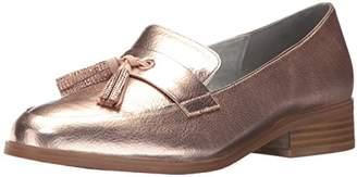 Kenneth Cole Reaction Women's Jet Ahead Dress Loafer with Tassel Detail Metallic Slip-On