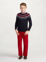 Oscar de la Renta Fair Isle Sweater