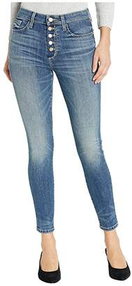Joe's Jeans Charlie Ankle w/ Cutout Exposed Button in Montana