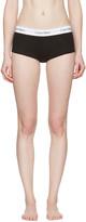Calvin Klein Underwear Black Modern Boy Shorts