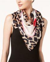 Kate Spade Cheetah-Print Silk Square Scarf