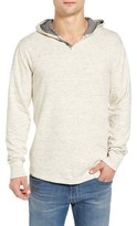 Lucky Brand Men's Washed Hooded Henley