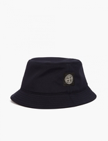 Stone Island Navy Nylon Shell Bucket Hat