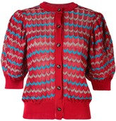 Kolor Puffed Sleeve Cardigan