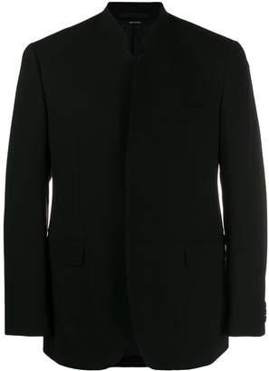 Issey Miyake classic fitted blazer