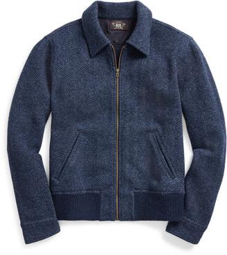 Ralph Lauren Wool-Cashmere Jumper Jacket