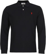 Ami Polo Shirt H17J208-760-410 Navy