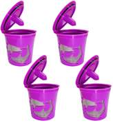 Gosear 4 PCS Reusable Coffee Filter Mesh Capsule Cup for Keurig 2.0 And 1.0 Series K200 K250 K300 K350