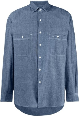 Aspesi Straight-Fit Denim Shirt