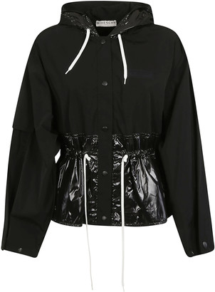 Givenchy Drawstring Waist Buttoned Jacket