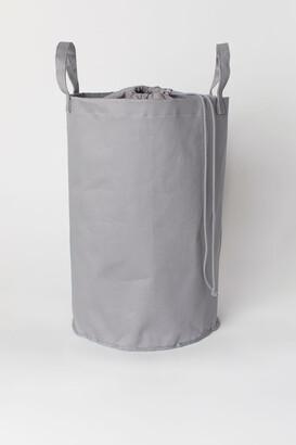 H&M Cotton Twill Laundry Bag - Gray