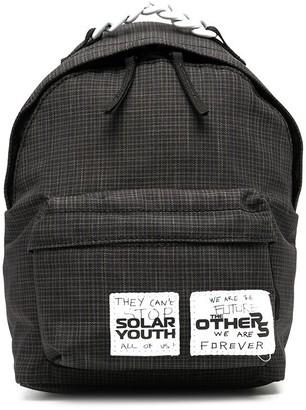 Raf Simons Logo Patch Backpack