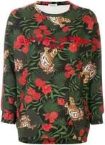 P.A.R.O.S.H. tiger print sweatshirt