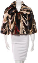 Adrienne Landau Multicolor Mink Coat w/ Tags
