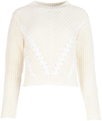 3.1 Phillip Lim Cropped Ribbon Detail Jumper