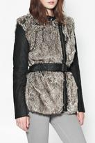 French Connection Alexia Furry Jacket
